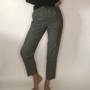 {Ralph Lauren} vintage high waist wool pants
